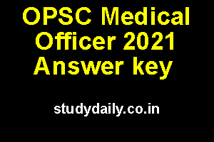 opsc mo answer key 2021