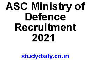 asc center ministry of defence recruitment